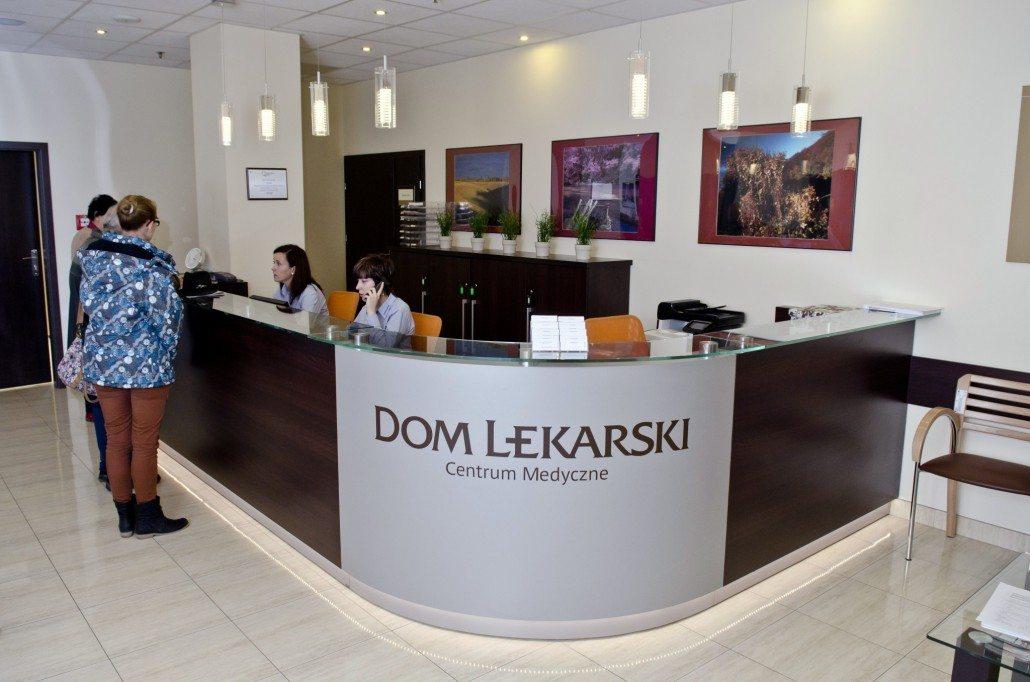 Dom Lekarski Medical Center - Dom lekarski- reception