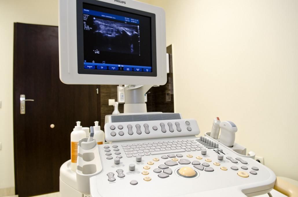 Dom Lekarski Medical Center - Scan machine