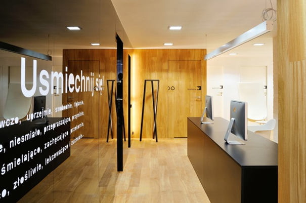 Dentim Clinic in Katowice reception
