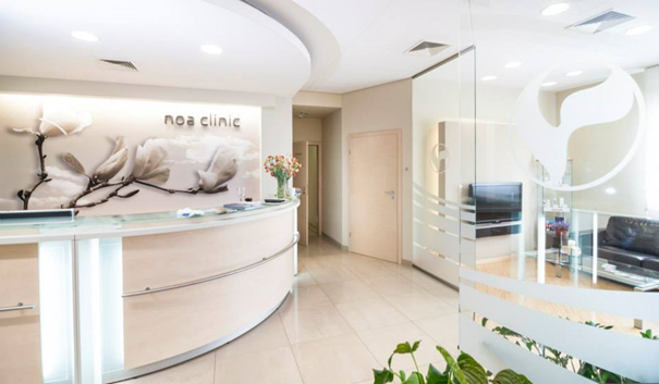 NOA clinic reception