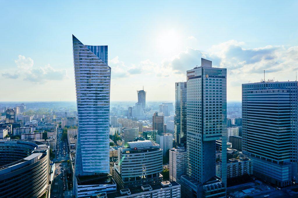 Warsaw panorama